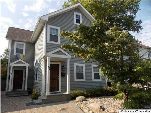 独户住宅 为 出租 在 74 Wallace Street 雷德班克, 新泽西州 07701 美国