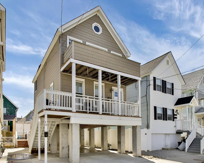 Single Family Home for Rent at 16 Beach Street Sea Bright, New Jersey 07760 United States