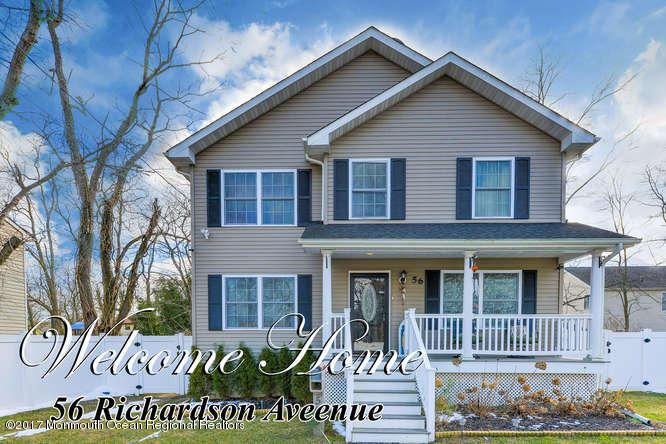 獨棟家庭住宅 為 出售 在 56 Richardson Avenue 56 Richardson Avenue Eatontown, 新澤西州 07724 美國