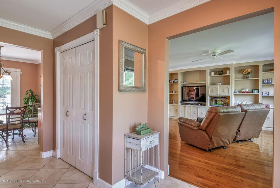 Foyer leading to Family Room