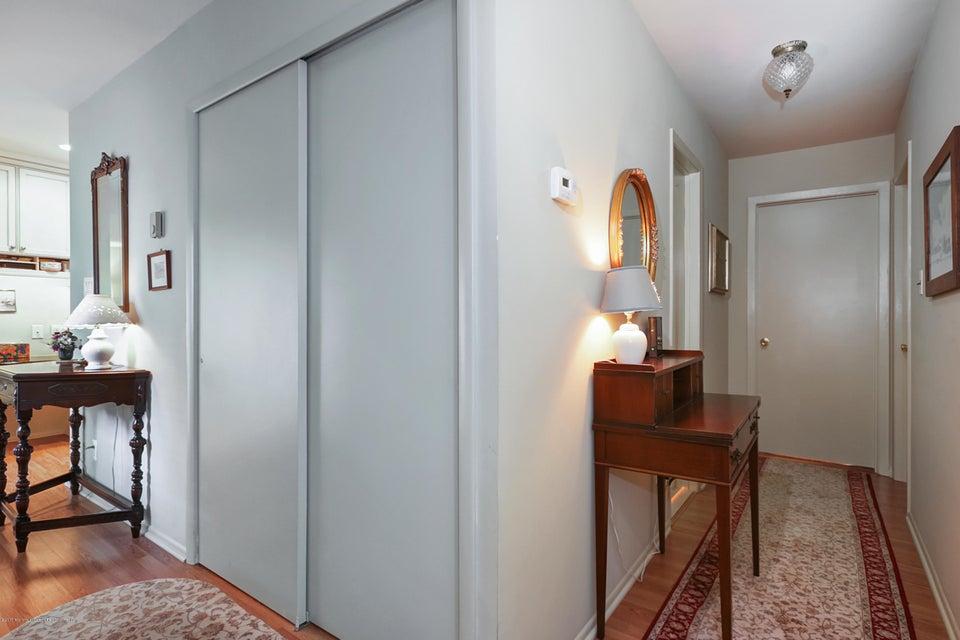 foyer closet and hallway