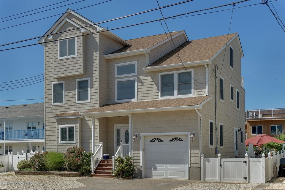 Single Family Home for Sale at 28 1st Avenue Seaside Park, New Jersey 08752 United States