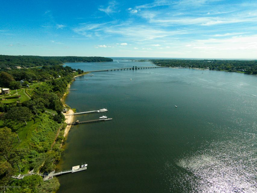 Aerial View of the Navesink Riverfront