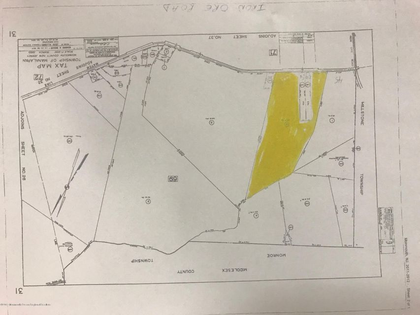 Land for Sale at 45 Iron Ore Road Manalapan, New Jersey 07726 United States