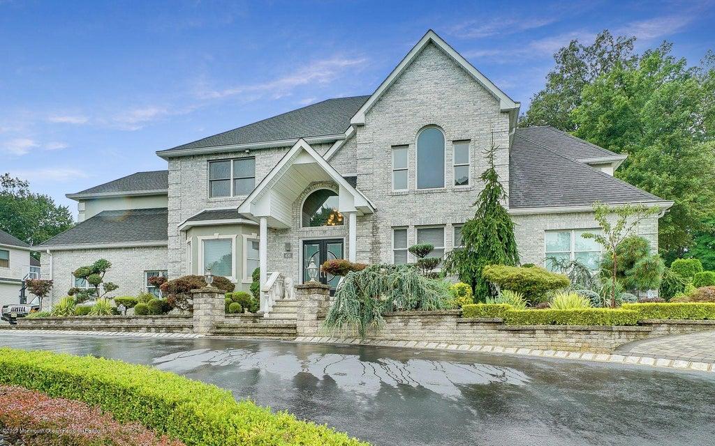 Maison unifamiliale pour l Vente à 430 Spotswood Englishtown Road Monroe, New Jersey 08831 États-Unis