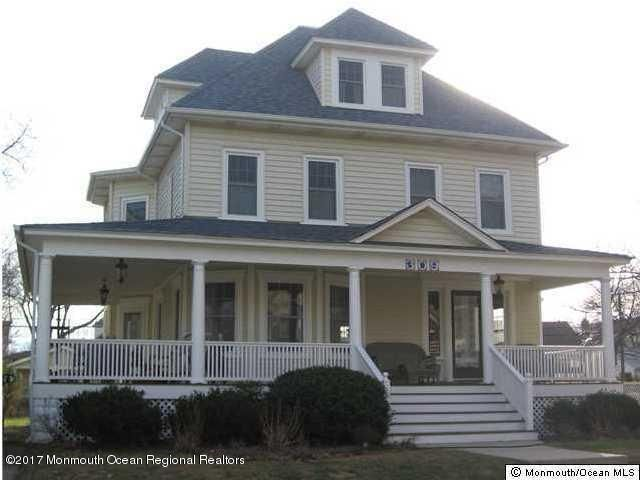 Single Family Home for Rent at 309 Brinley Avenue 309 Brinley Avenue Bradley Beach, New Jersey 07720 United States