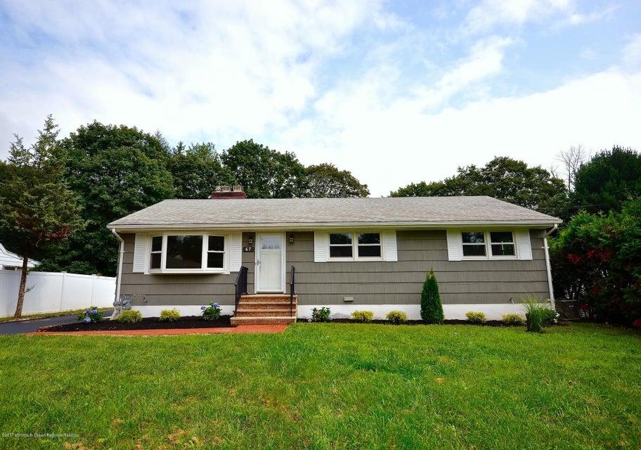 独户住宅 为 销售 在 67 French Street Franklin, 新泽西州 08873 美国