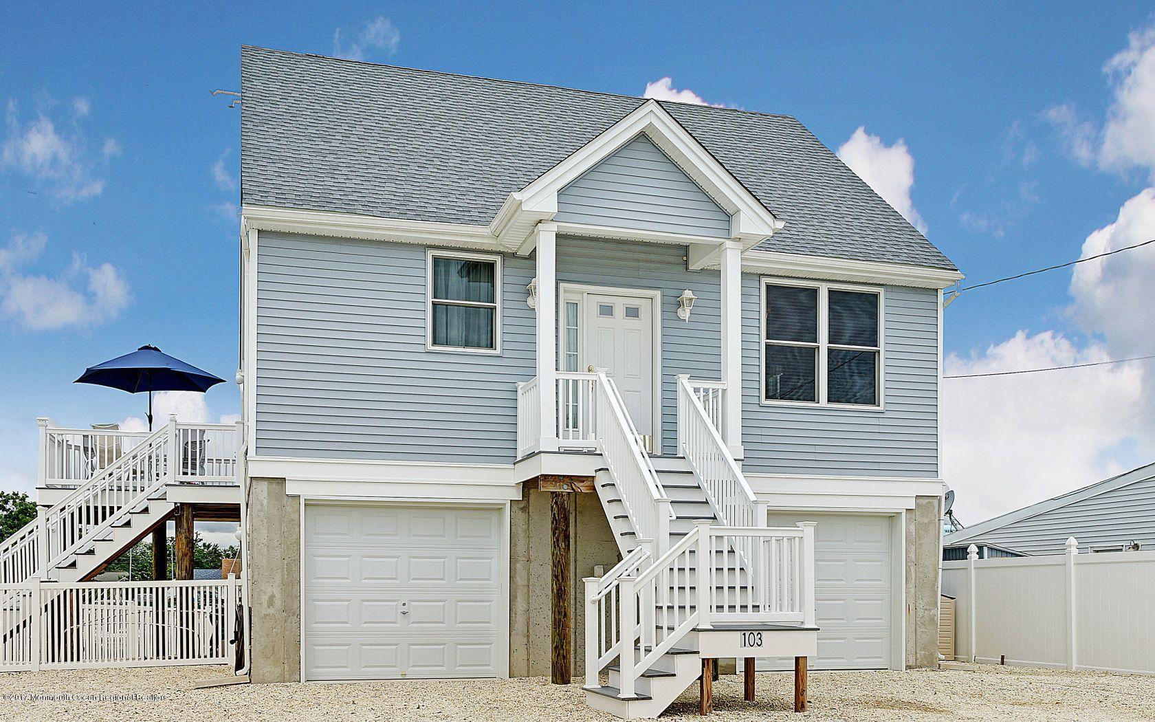 独户住宅 为 销售 在 103 Irvington Road 103 Irvington Road Waretown, 新泽西州 08758 美国