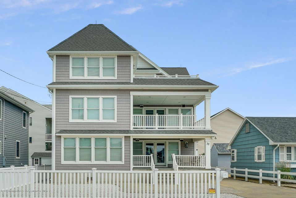 Single Family Home for Sale at 32 22nd Avenue South Seaside Park, New Jersey 08752 United States