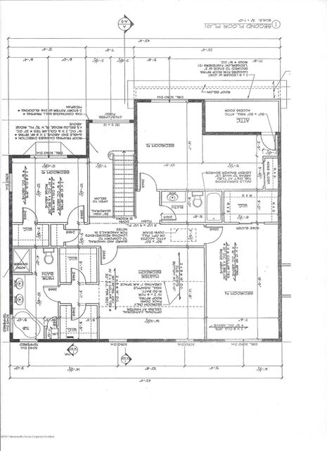 Lot 8.12 Second floor layout
