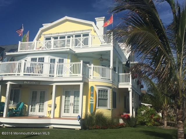 独户住宅 为 出租 在 2000 Ocean Avenue 贝尔玛, 新泽西州 07719 美国