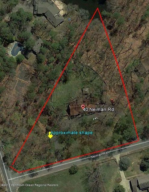 Land for Sale at 40 Neiman Road 40 Neiman Road Lakewood, New Jersey 08701 United States