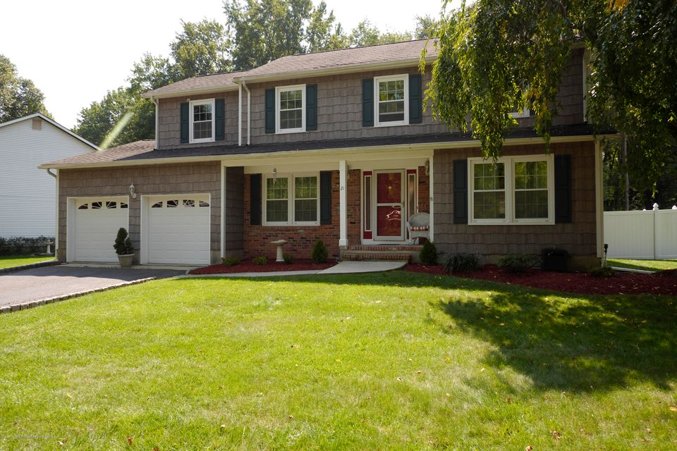 Single Family Home for Sale at 21 Merritt Terrace Matawan, New Jersey 07747 United States