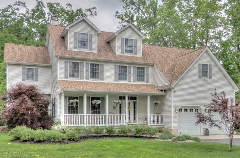 Einfamilienhaus für Verkauf beim 40 Jonathan Holmes Road 40 Jonathan Holmes Road Cream Ridge, New Jersey 08514 Vereinigte Staaten