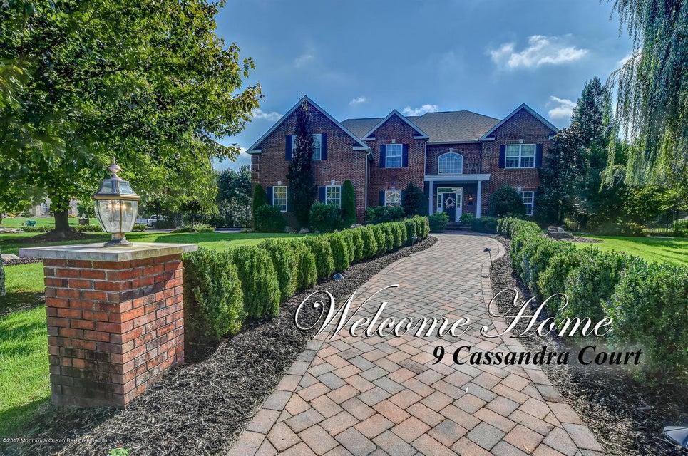 Casa para uma família para Venda às 9 Cassandra Court 9 Cassandra Court Monroe, Nova Jersey 08831 Estados Unidos