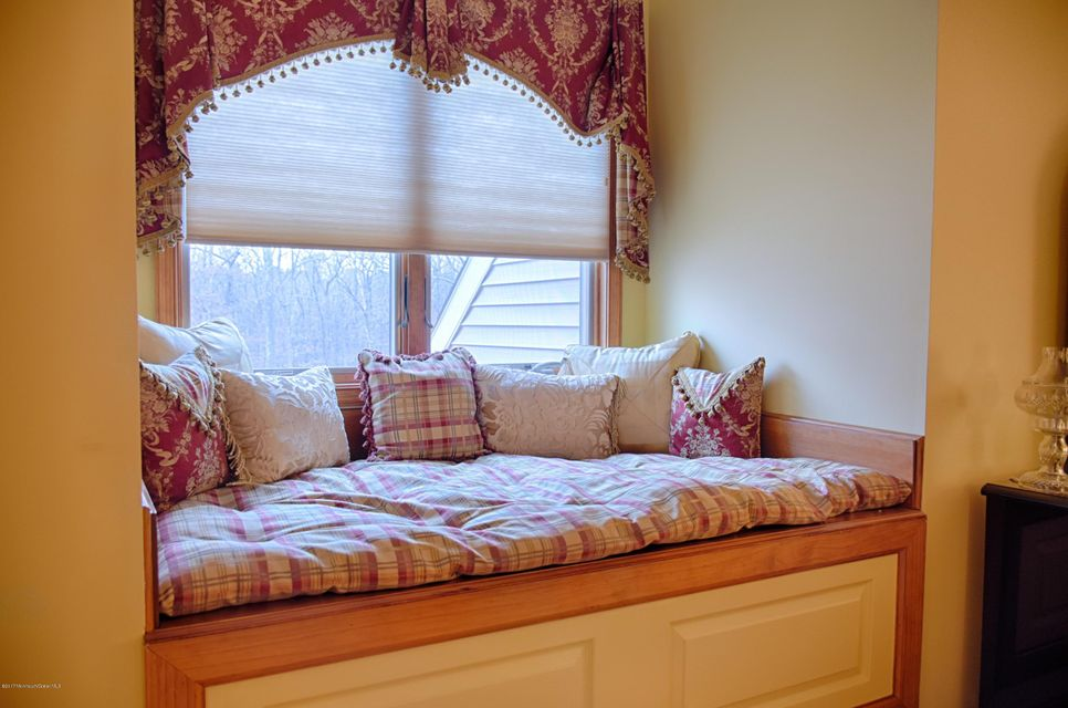 Bedroom Window Seat with Storage