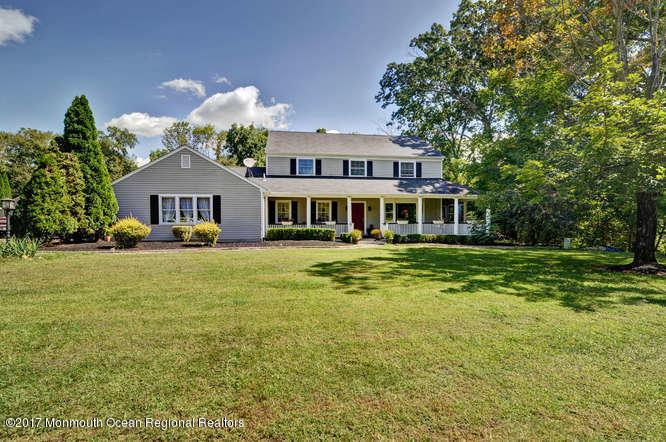独户住宅 为 销售 在 165 Province Line Road Allentown, 新泽西州 08501 美国