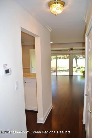 Hallway to Kitchen and Living Area