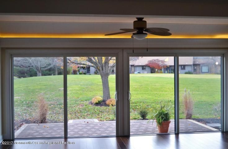Sunroom view of Golf Course