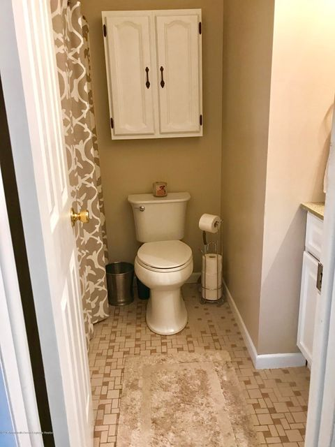 New Toilet, Cabinets in Bath