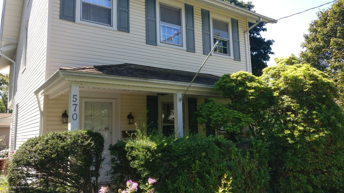 Single Family Home for Rent at 570 Cedar Avenue 570 Cedar Avenue West Long Branch, New Jersey 07764 United States