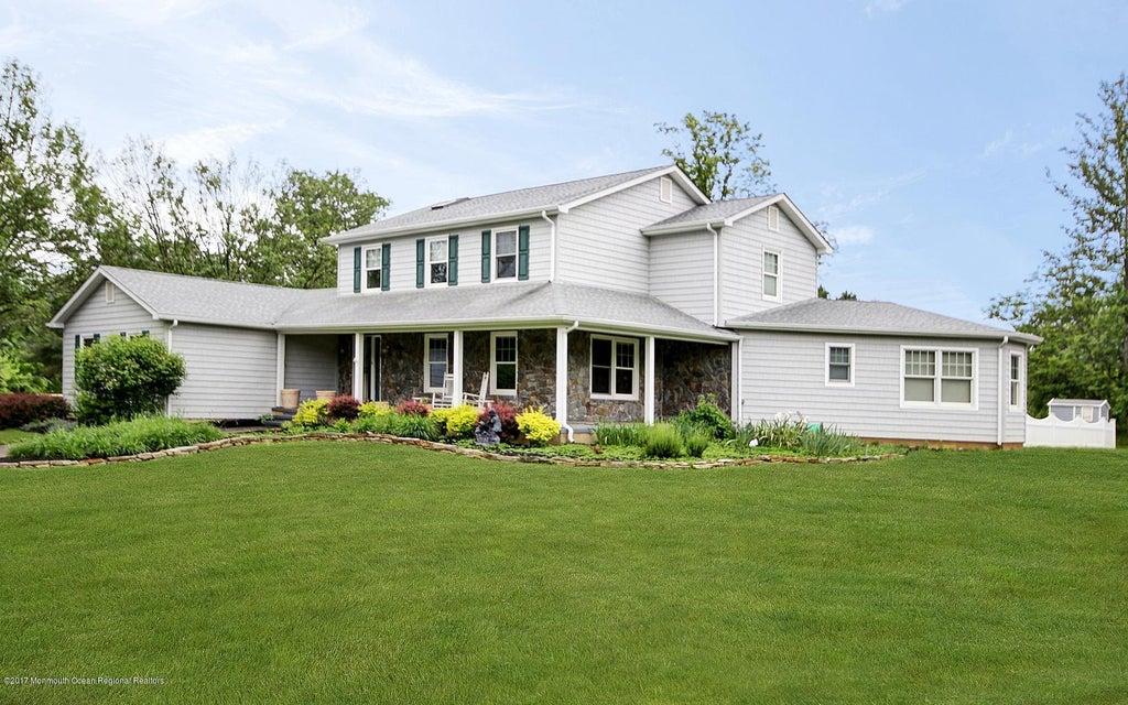 Maison unifamiliale pour l à louer à 113 Arneytown Hornerstown Road Allentown, New Jersey 08501 États-Unis
