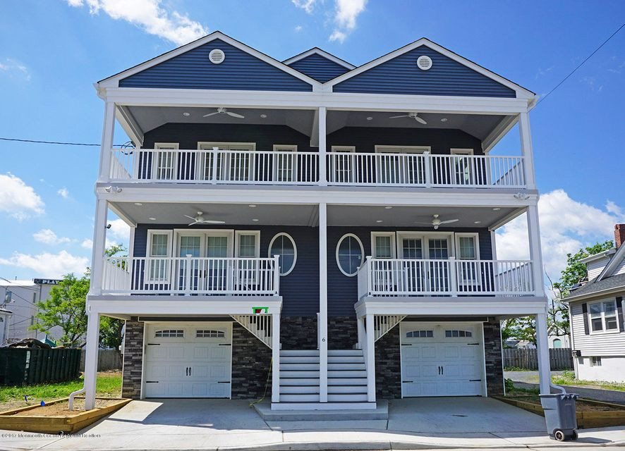 Single Family Home for Sale at 6-A Peninsula Avenue Sea Bright, New Jersey 07760 United States