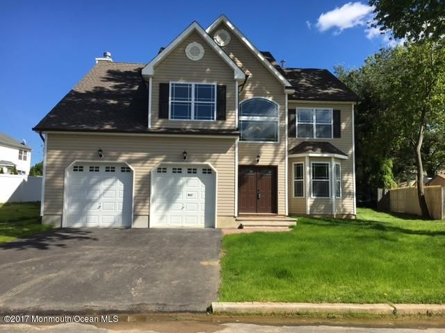Single Family Home for Sale at 267 Barbara Place 267 Barbara Place Aberdeen, New Jersey 07747 United States