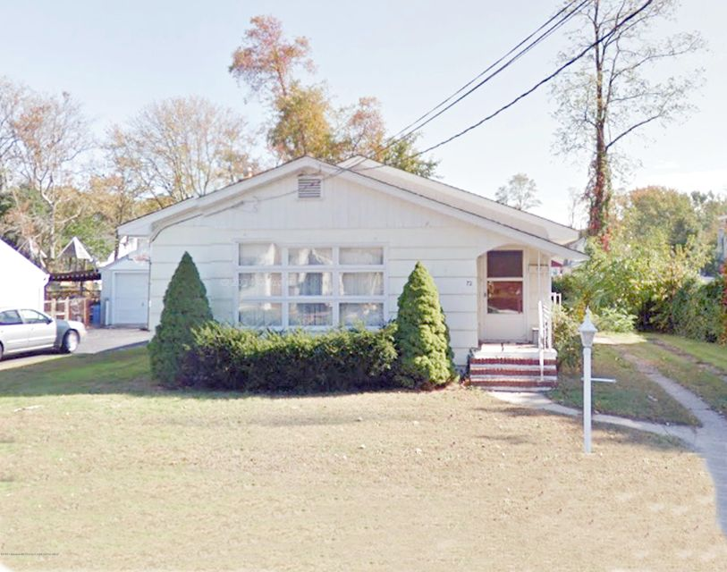 Single Family Home for Sale at 72 Locust Avenue Neptune City, New Jersey 07753 United States