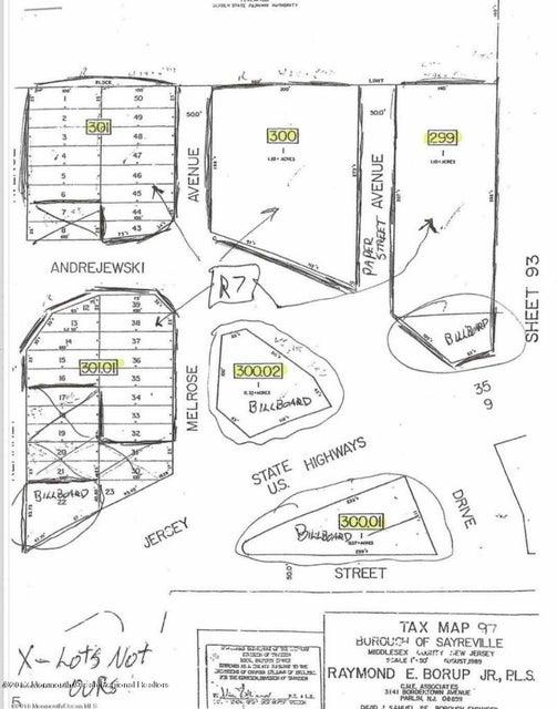 土地 のために 売買 アット Kearney Kearney Sayreville, ニュージャージー 08879 アメリカ合衆国