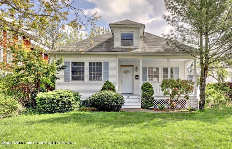 Maison unifamiliale pour l Vente à 304 Cedar Avenue Allenhurst, New Jersey 07711 États-Unis