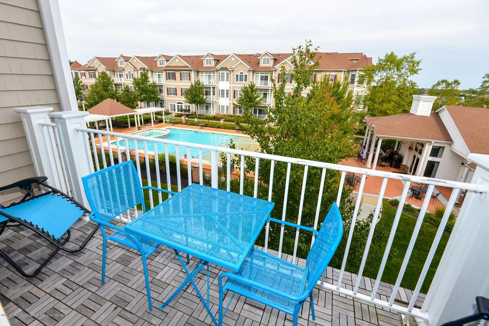 Balcony With Teak Floor