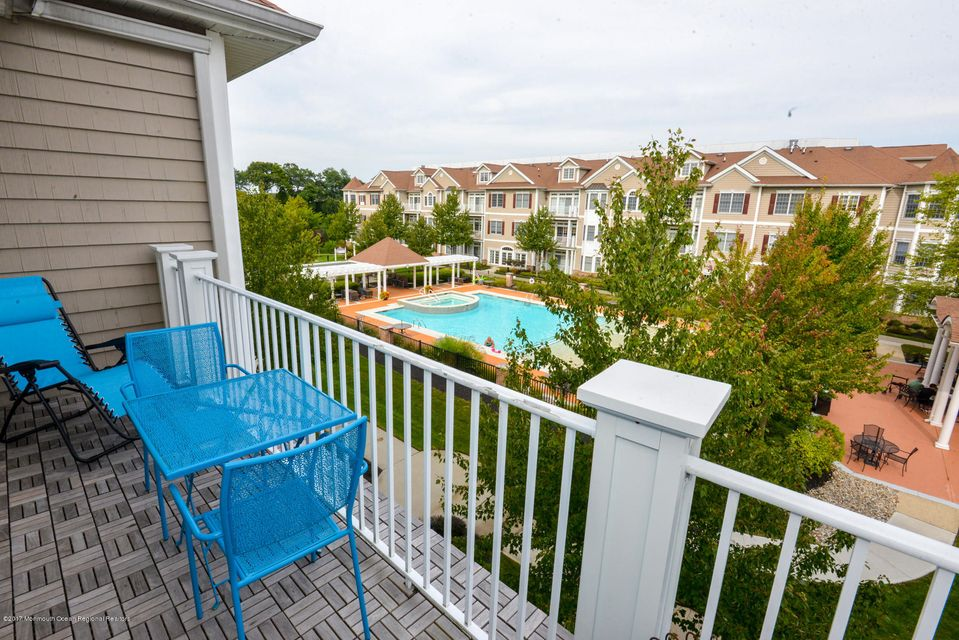 Balcony With View of Pool