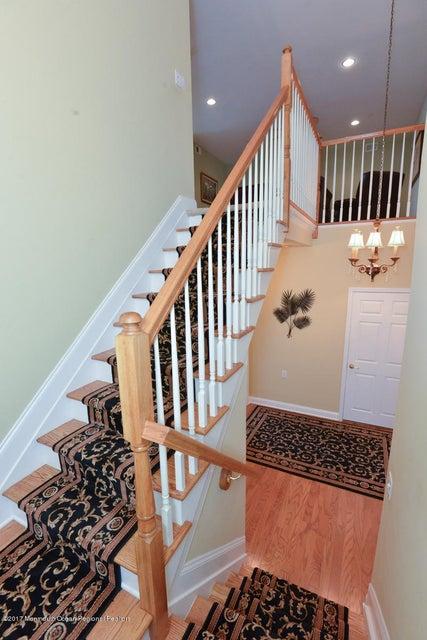 Beautiful View of Stairway to Loft