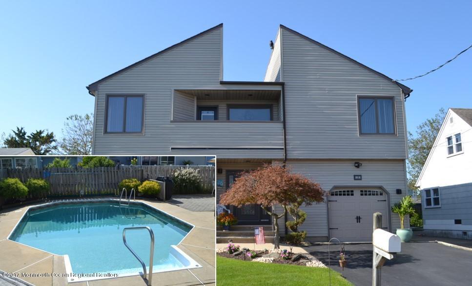 獨棟家庭住宅 為 出售 在 1818 Shore Boulevard 1818 Shore Boulevard Point Pleasant, 新澤西州 08742 美國