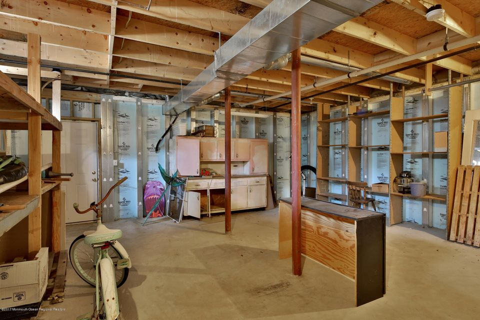 Basement with Very High Ceilings