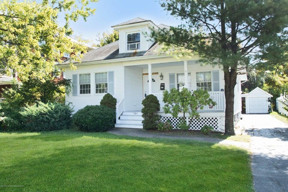 Casa Unifamiliar por un Venta en 304 Cedar Avenue 304 Cedar Avenue Allenhurst, Nueva Jersey 07711 Estados Unidos