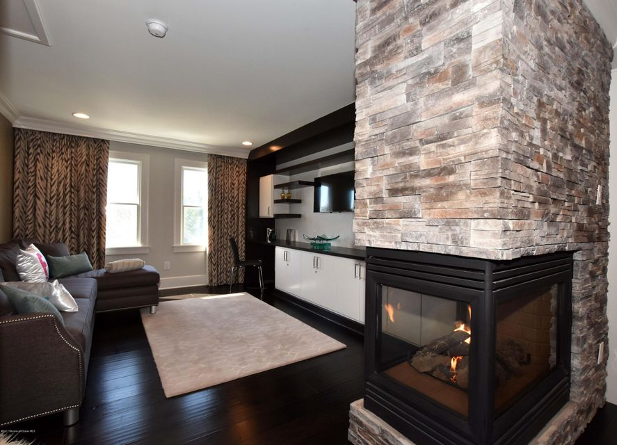 Master Sitting Room with fireplace