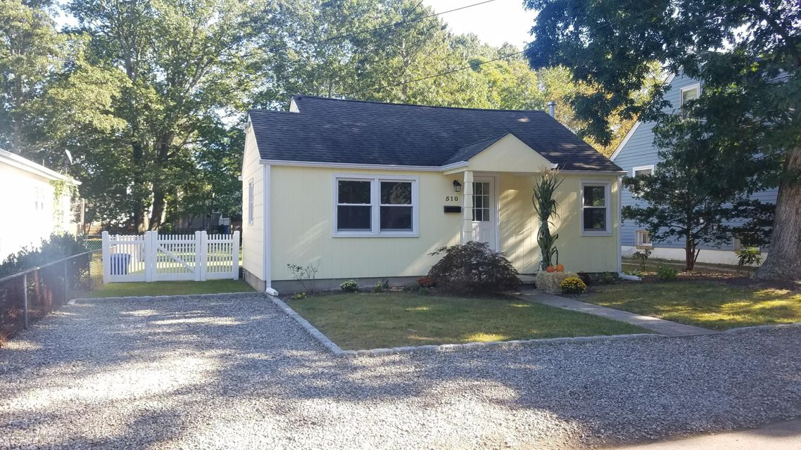 Single Family Home for Rent at 510 Butler Avenue 510 Butler Avenue Point Pleasant, New Jersey 08742 United States