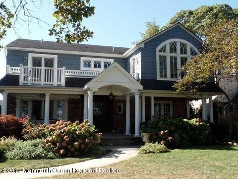 Single Family Home for Sale at 312 The Terrace 312 The Terrace Sea Girt, New Jersey 08750 United States
