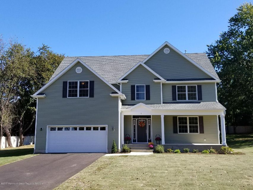 Single Family Home for Sale at 3 Hill Court 3 Hill Court Oceanport, New Jersey 07757 United States