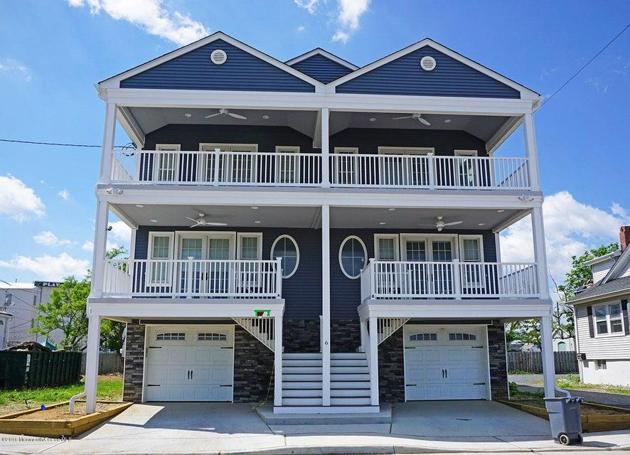 独户住宅 为 出租 在 6 A Peninsula Avenue 6 A Peninsula Avenue Sea Bright, 新泽西州 07760 美国