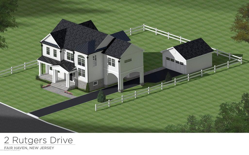 Einfamilienhaus für Verkauf beim 2 Rutgers Drive 2 Rutgers Drive Fair Haven, New Jersey 07704 Vereinigte Staaten