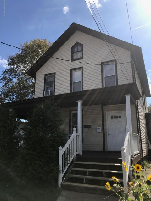 Single Family Home for Rent at 13 3rd Street 13 3rd Street Keyport, New Jersey 07735 United States