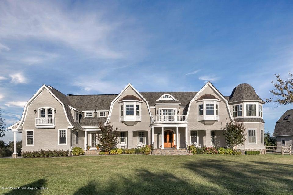 Частный односемейный дом для того Продажа на 26 Osprey Lane 26 Osprey Lane Rumson, Нью-Джерси 07760 Соединенные Штаты