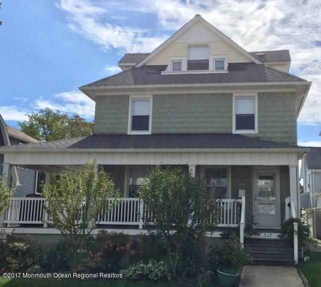 Single Family Home for Rent at 317 Mccabe Avenue 317 Mccabe Avenue Bradley Beach, New Jersey 07720 United States