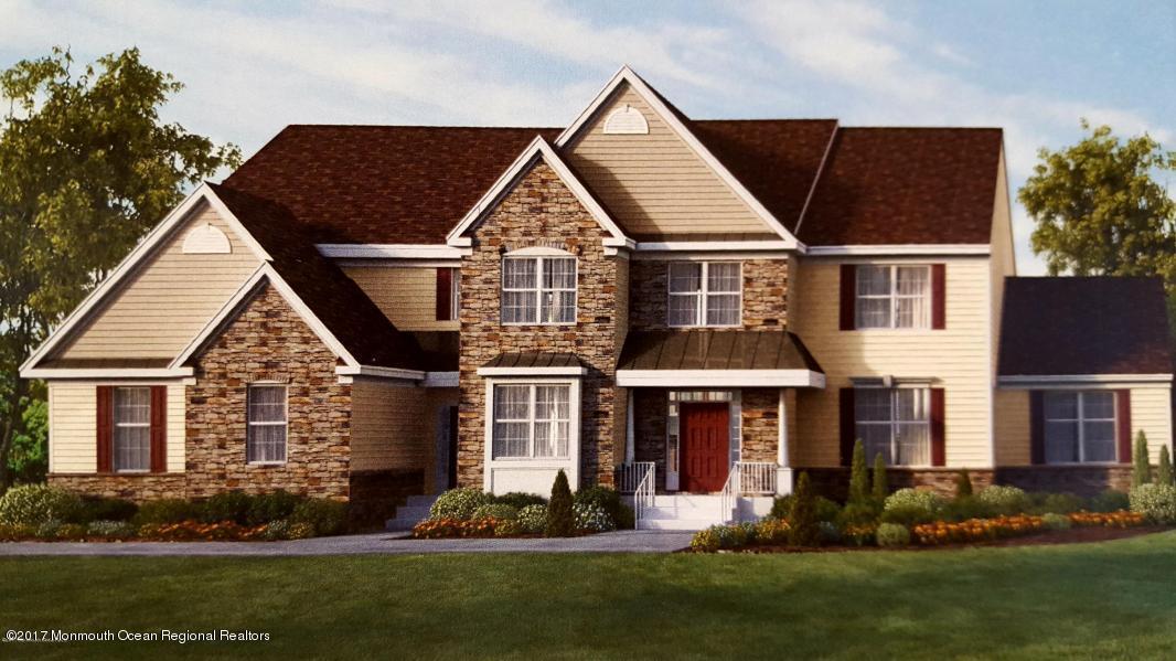Maison unifamiliale pour l Vente à 18 Mill Road 18 Mill Road Manalapan, New Jersey 07726 États-Unis