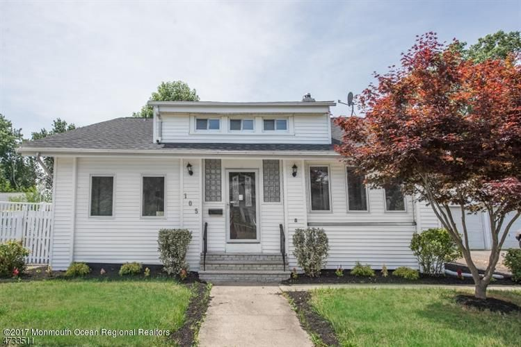 Single Family Home for Sale at 105 Hudson Avenue 105 Hudson Avenue North Middletown, New Jersey 07748 United States