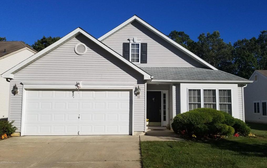 Single Family Home for Rent at 51 Merion Lane 51 Merion Lane Jackson, New Jersey 08527 United States