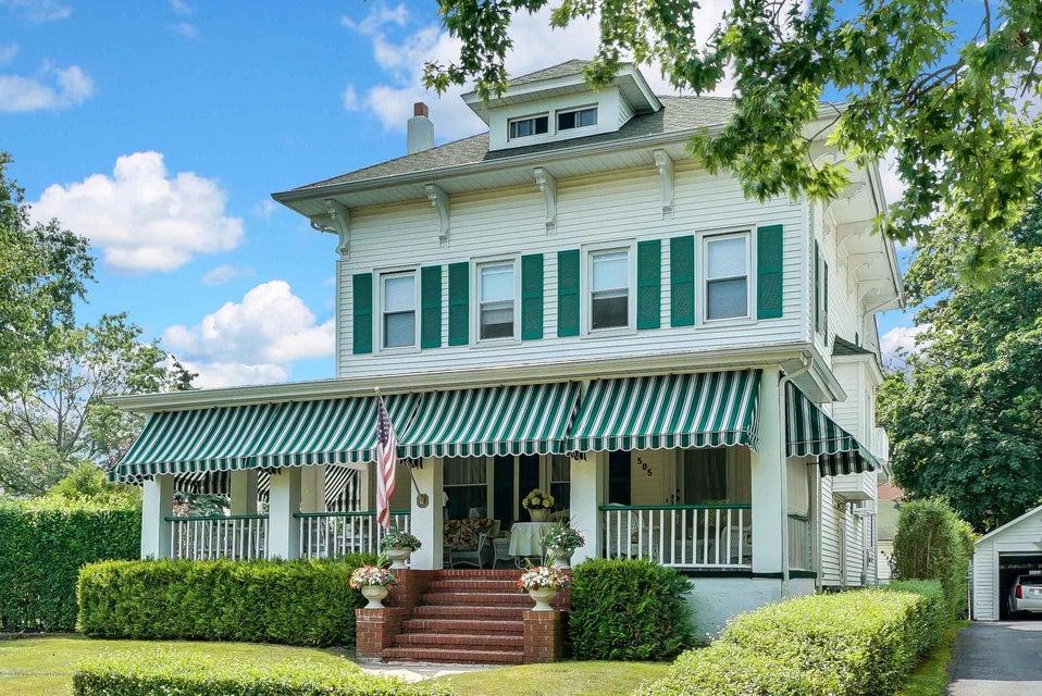 Casa Unifamiliar por un Venta en 505 Page Avenue 505 Page Avenue Allenhurst, Nueva Jersey 07711 Estados Unidos